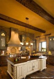 Spanish Mission Style Kitchen 36