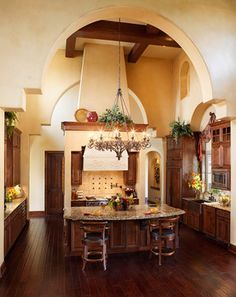Spanish Mission Style Kitchen 64