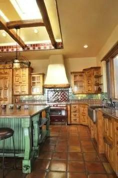 Spanish Mission Style Kitchen 77