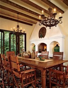 Spanish Mission Style Kitchen 85