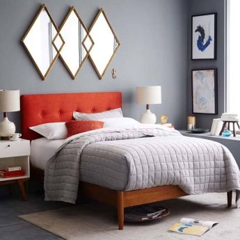 Colorful Modern Bedroom 11