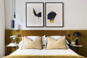 Colorful Modern Bedroom 13