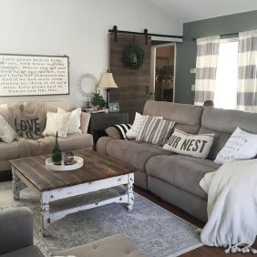 Farmhouse Living Rooms 10