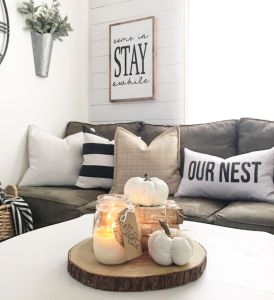 Fall Apartment Decor 2