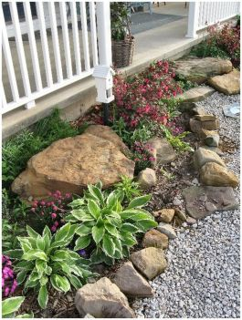 Flower Beds In Front Of House 8