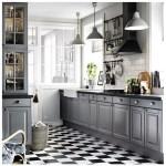 Gray Cabinets Black Countertops 6