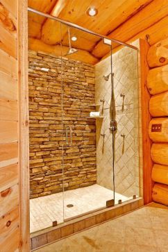 Log Home Bathrooms 11