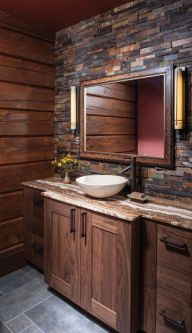 Log Home Bathrooms 2