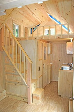 Tiny House Stairs 5