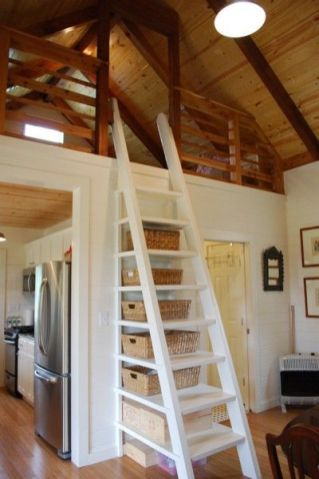 Tiny House Stairs 7