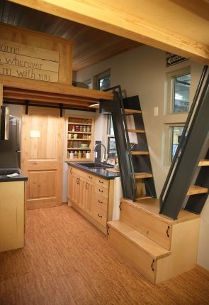 Tiny House Stairs 8
