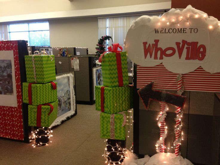 Christmas Office Decorations 2