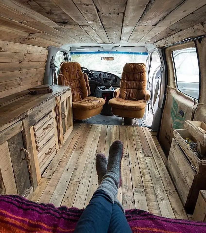 Conversion Van Interior 14