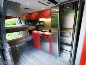 Conversion Van Interior 15