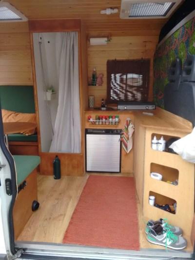Conversion Van Interior 7