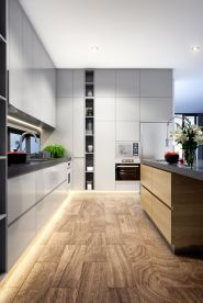 Grey And Beige Kitchen 7