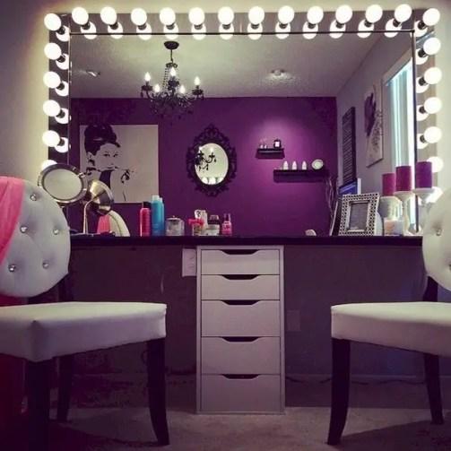 22 Glam Dressing Room Ideas Design Ideas - decoratoo on Makeup Room Design  id=53304