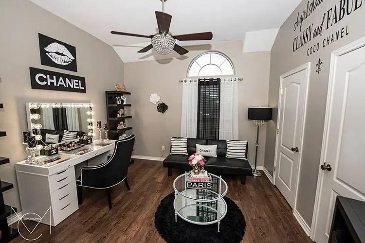 Glam Makeup Room 4 - decoratoo on Make Up Room Ideas  id=12846