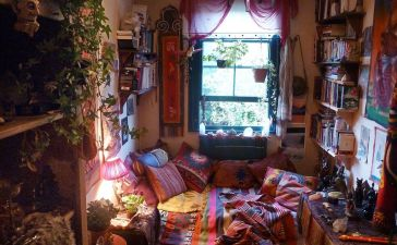 Hippie Bedroom 1