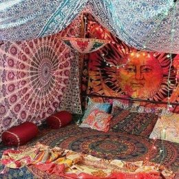 Hippie Bedroom 11