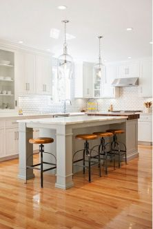 Modern Farmhouse Kitchen 36