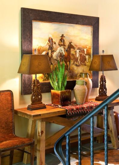 23 Awesome Western Living Room Decors - decoratoo