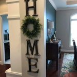Wreaths On Kitchen Cabinet Doors12