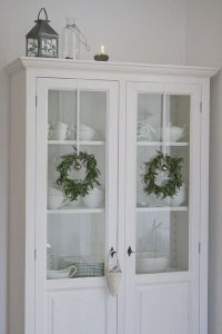 Wreaths On Kitchen Cabinet Doors17