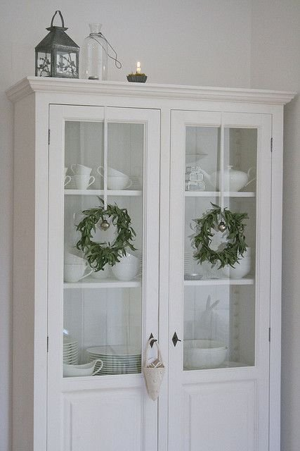 Wreaths On Kitchen Cabinet Doors17