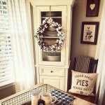Wreaths On Kitchen Cabinet Doors6