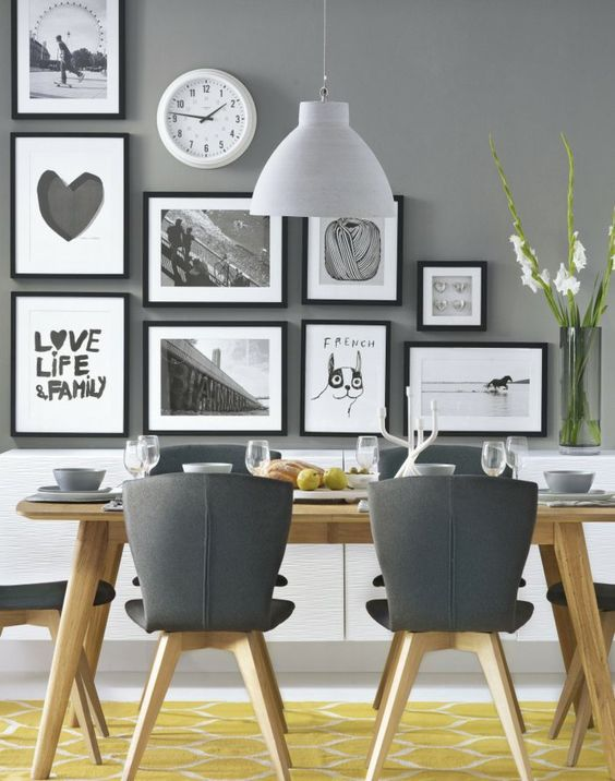 Dining Room Wall Decorations 11