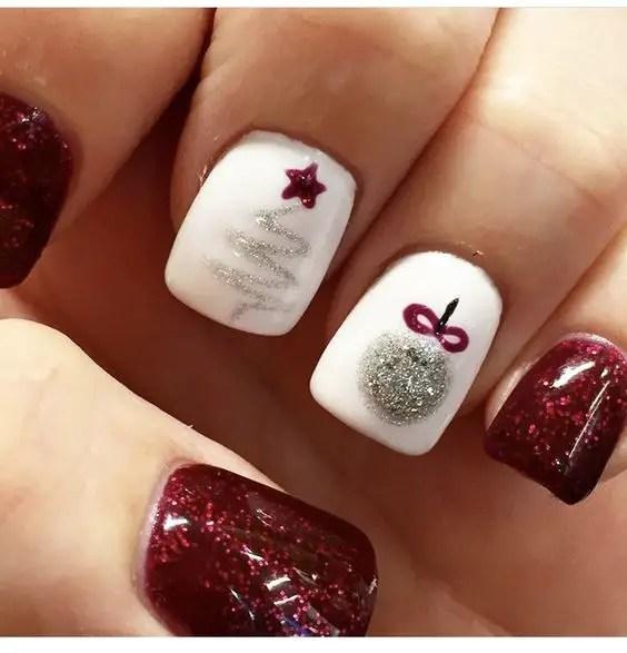Nails Design Ideas for Christmas 2