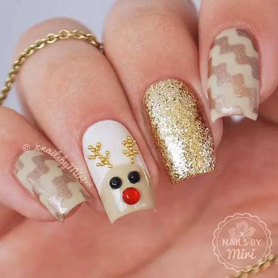 Nails Design Ideas for Christmas 7