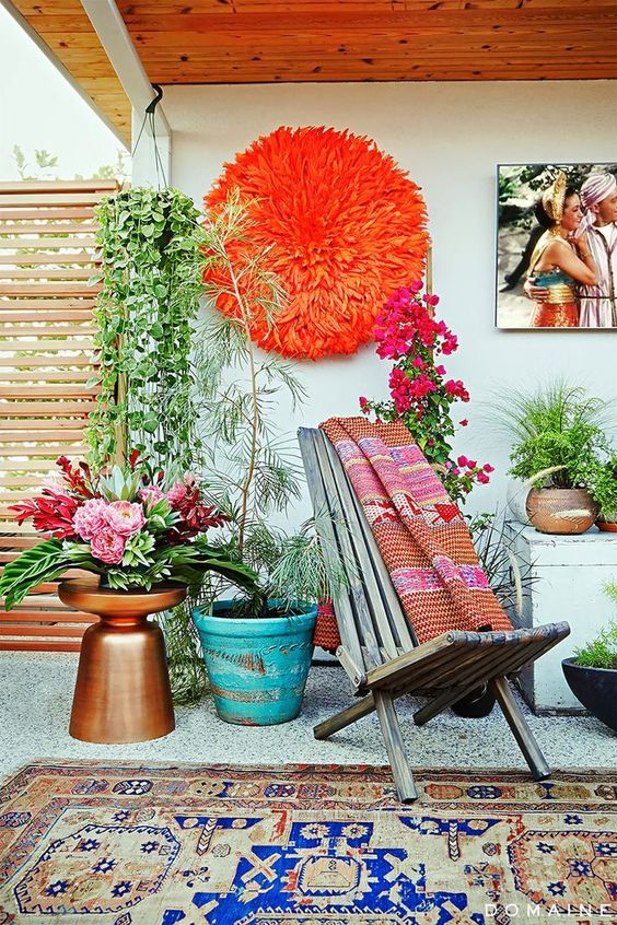 Bohemian Patio Ideas 8