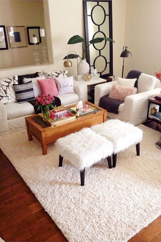 11 cute apartment ideas on a budget decoratoo - Cheap living room decorating ideas apartment living ...