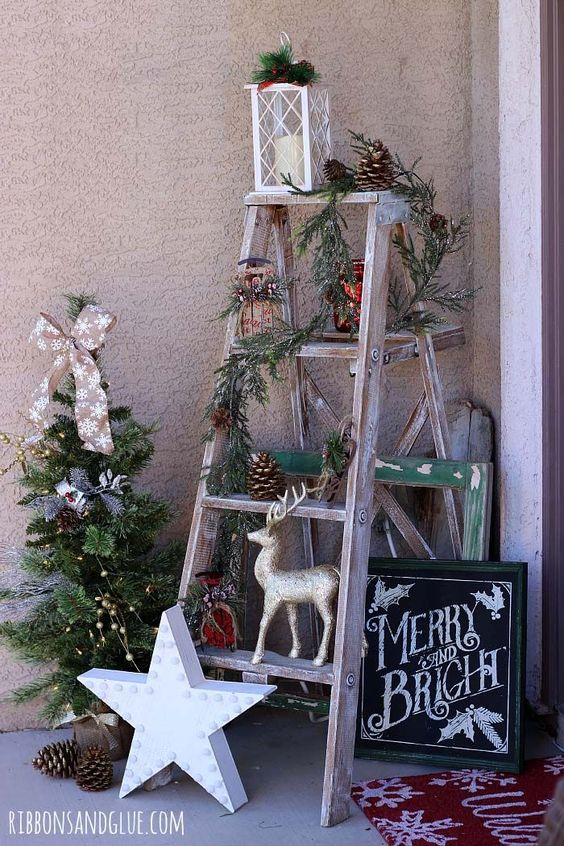 Rustic Christmas Decor 10