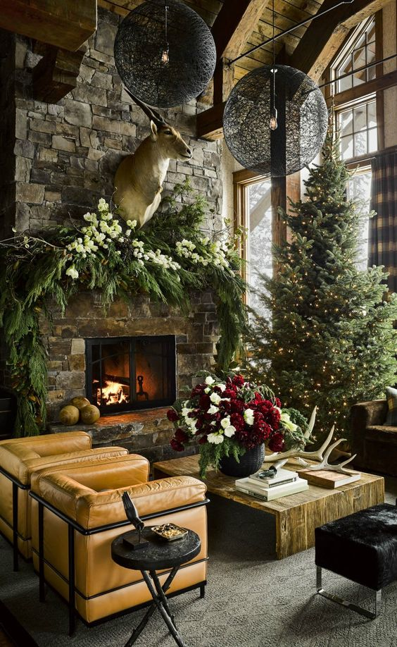 Rustic Christmas Decorating Ideas.11 Rustic Christmas Decor Ideas For Your Home Decoratoo
