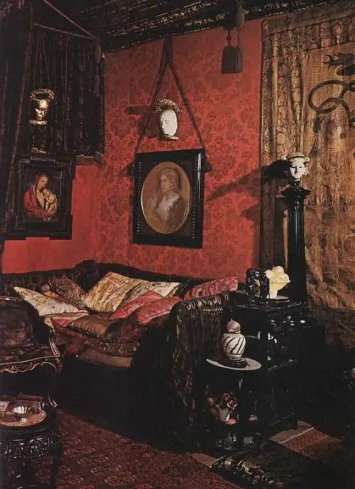 Gothic Furniture Set For Living Room 10