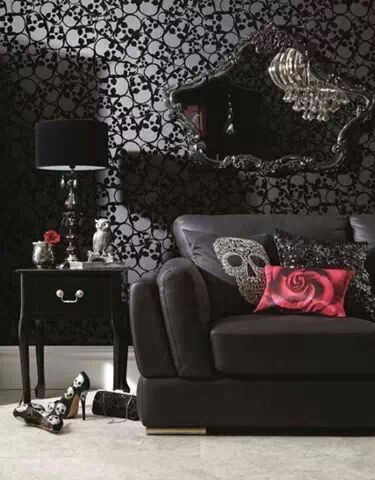 Gothic Furniture Set For Living Room 11