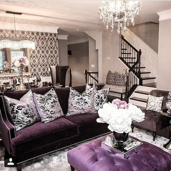 Gothic Furniture Set For Living Room 4