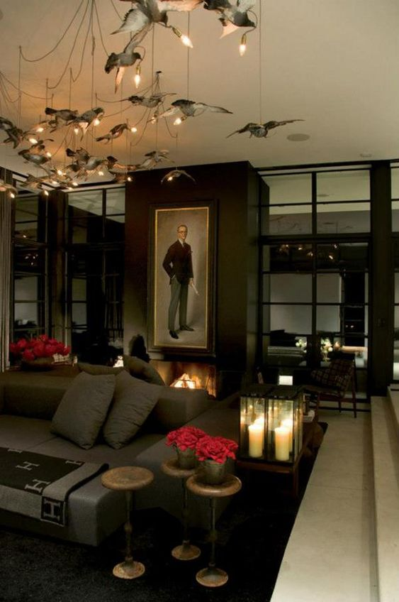 Gothic Furniture Set For Living Room 6
