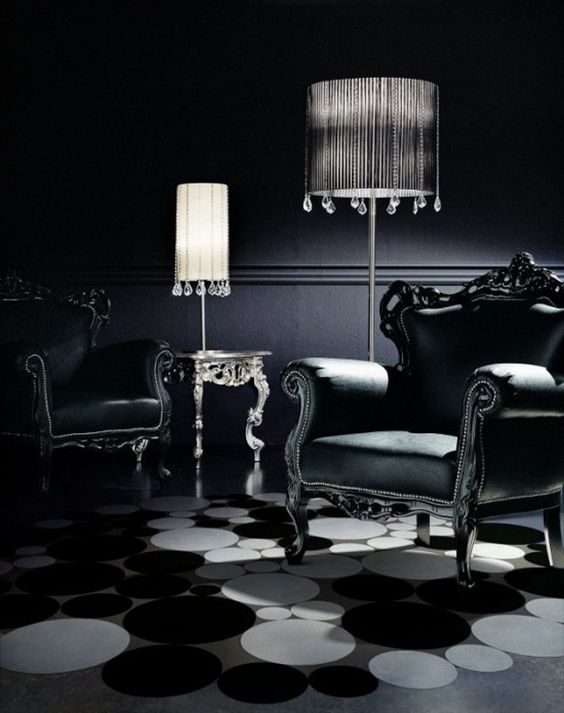 Gothic Furniture Set For Living Room 9