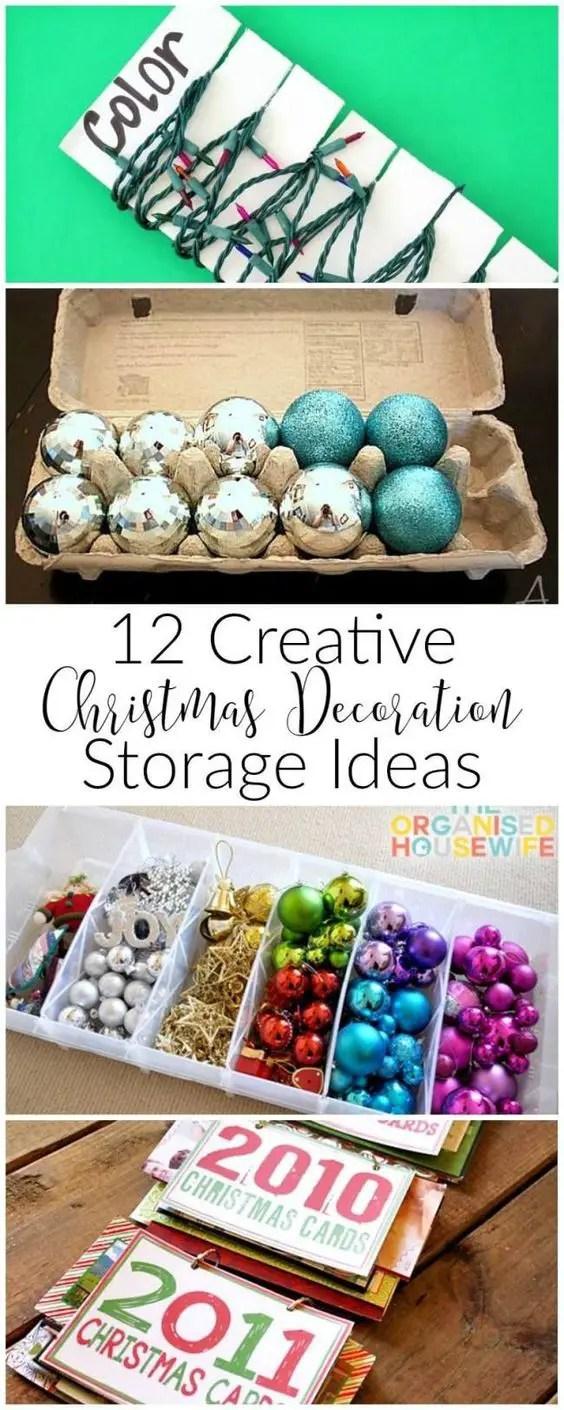 Christmas Decoration Storage 9