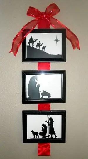 Christmas Wall-Themed Decoration