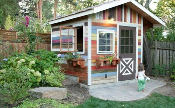 18 Colorful And Bright Painted Shed Ideas Decoratoo