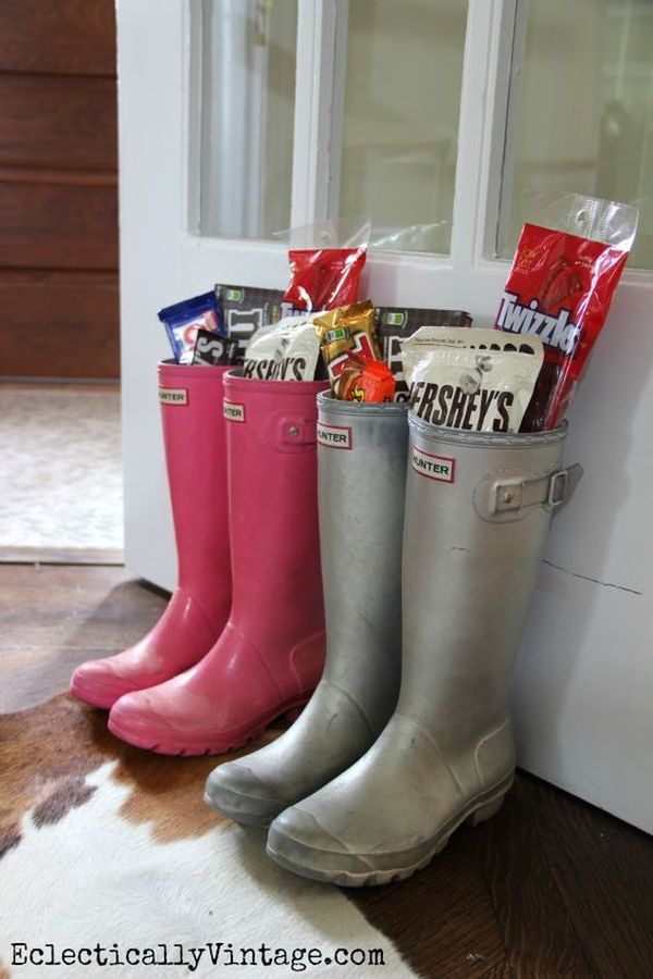 Rain Boot Easter Basket 12 Result