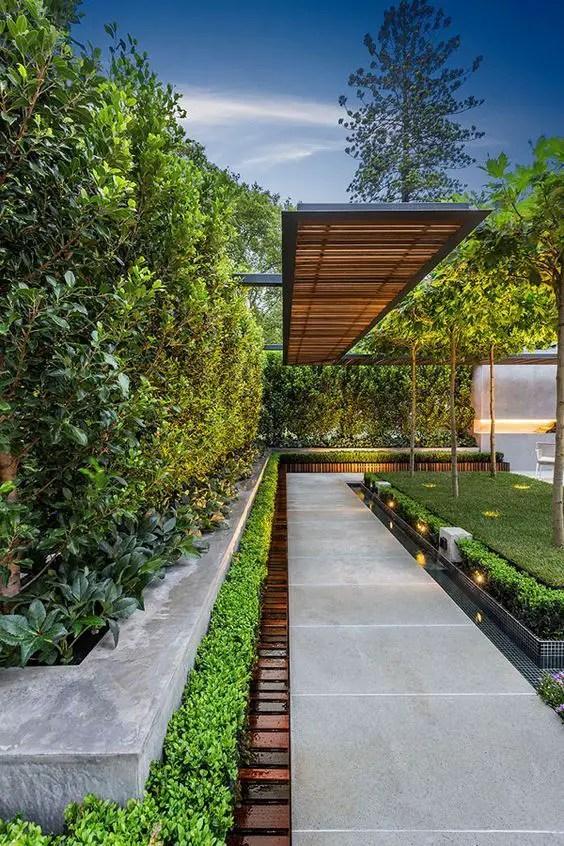 14 Ideas Of Modern Landscape Design For Living House ...