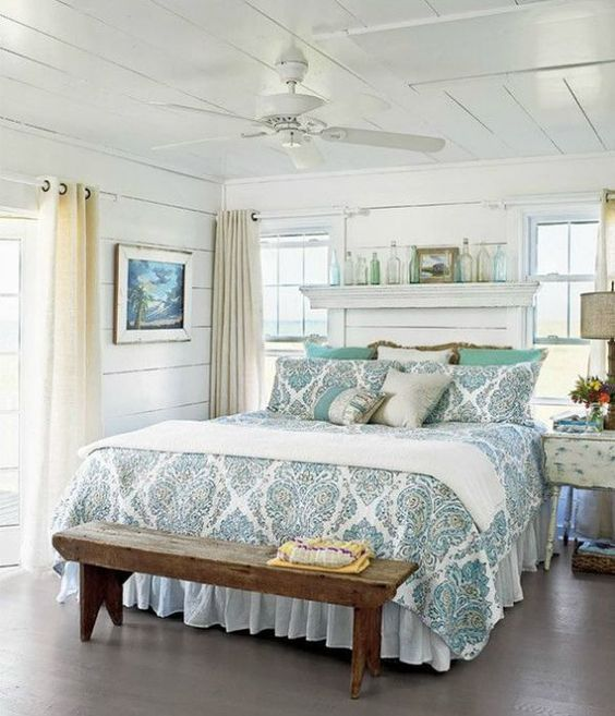 Coastal Glam Bedroom 17 Result