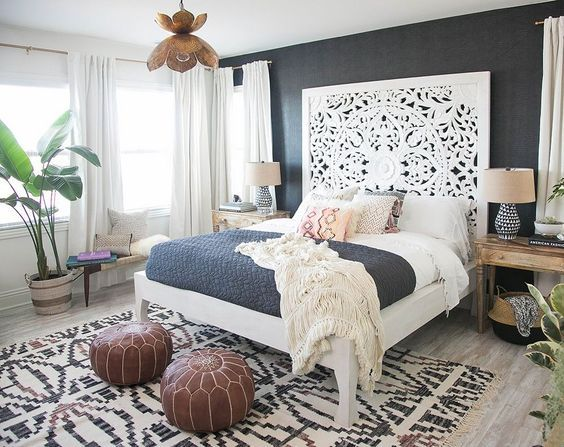 48 Beautiful Inspired Boho Bedroom Decorating On A Budget For Unique Custom Bedroom Design On A Budget