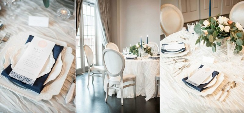 Touch Of White In Wedding Decor